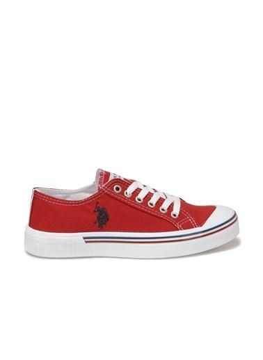 U.S. Polo Assn. Penelope 1Fx Kadın Havuz n Sneaker Kırmızı